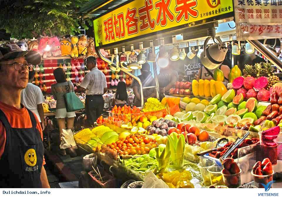 """""""Căng bụng"""" với chợ đêm ẩm thực lớn nhất Đài Bắc"""