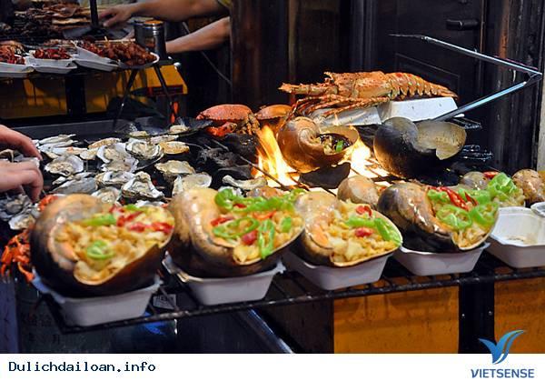 Muốn ăn hải sản tươi ngon ở Đài Loan phải đến cảng Phúc Kỳ